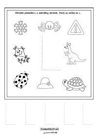Písmenká - séria pracovných listov - Nasedeticky.sk Montessori, Education, Comics, Alphabet, Speech Language Therapy, Cartoons, Onderwijs, Learning, Comic