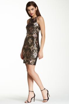 Alexia Admor Sleeveless Sequin Dress by Alexia Admor on @HauteLook