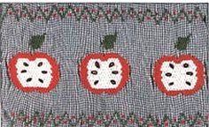 Apple's, Oranges, Strawberries, Watermelons, Etc. Smocking Plates