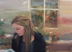 "Saatchi Art Artist Eunjung Seo; Painting, ""Emma"" #art"