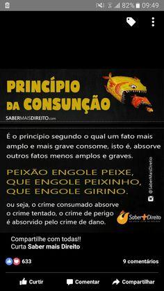 Principio da Consunção