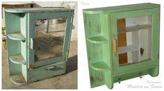 Restauração de Móveis de Época : Restauração de armário antigo.