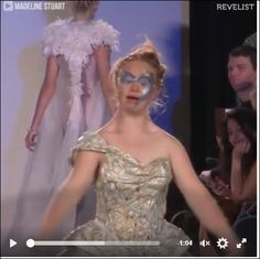 Madeline Stuart is changing fashion stereotypes one catwalk at a time! https://www.facebook.com/imafeministandproud/videos/619386291590441/?pnref=story   https://www.facebook.com/laurie.korzeniewski