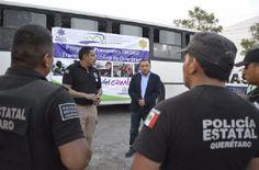 Al menos 6 robos diarios al transporte público en Querétaro
