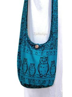 SMALL SIZE Crossbody Owl Animal Bag Girl Teen Woman by TipBoutique