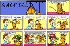 Garfield comic strips