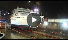 Cruise Ship timelapse
