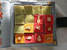 memo game, Babi's quiet book Advent Calendar, Game, Holiday Decor, Book, Diy, Home Decor, Decoration Home, Bricolage, Room Decor