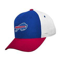 brand new 074c7 30811 NFL Buffalo Bills Boys 820 Color Block Adjustable Cap Youth One Size Royal