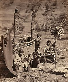 how to make a navajo weaving loom - Google Search