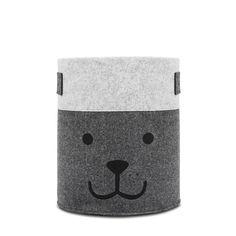 Jollein Bear Mand XL felt - grijs - afbeelding 1