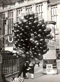 Ein Ballonverkäufer 1950.unserjahrgang.de