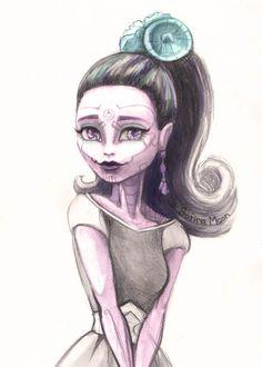 Monster High Boo York Boo York Elle Eedee Scektch