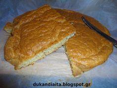 Όλα για τη δίαιτα Dukan: Ψωμί Ντουκαν Dukan Diet Recipes, Cooking Recipes, Low Carb Keto, Ketogenic Diet, Banana Bread, Protein, Paleo, Food And Drink, Health Fitness