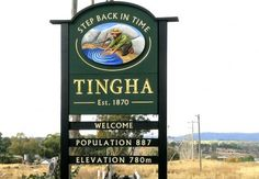 Tingha Local Government Sign / Danthonia Designs