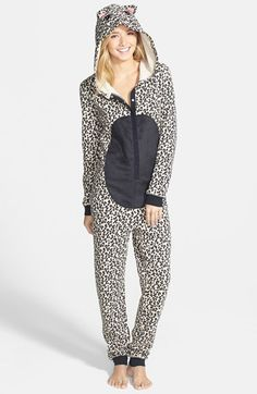BP. Undercover Animal Onesie (Juniors) available at #Nordstrom