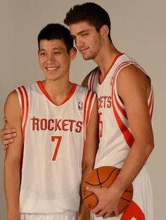 Jeremy Lin and Chandler Parsons  The Best Bromance in the NBA 76ac17d3f