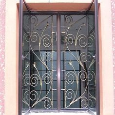 68 Best Window Grill Design Images In 2017 Iron Doors
