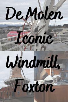 De Molen Windmill, Foxton. The De Molen Windmill is a full size operational 17th century replica Dutch Windmill. Open to the public it allows visitors to experience a little piece of the Netherlands. #ontheroadkiwis #travel #newzealand #nztoday #nzmustdo #photography #newzealandlife #northisland #foxton #demolen