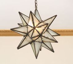 Exceptional Star Hanging Light