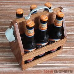 Check out this project on RYOBI Nation - What better way to spread some holiday joy than with some good beer and a handmade tote? With little time to spare around the holidays you'll be done with this tote in under and hour!