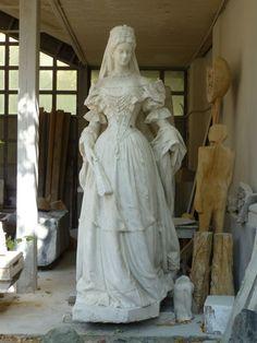 Kaiserin Elisabeth Statue in der ungarischen Hochschule der bildenden Kunst