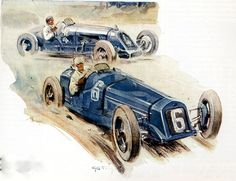 One Delage entered for the Monaco Grand Prix of 1929,driven by Raoul de Rovin.All the Cars in the Race had Superchargers.