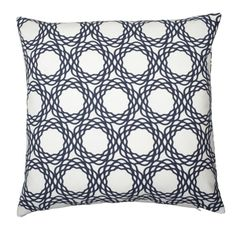 OXFORD Pillow by Cococozy in Navy
