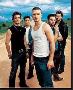 *NSYNC: They got a lot of my <3 & attention throughout HS & college.