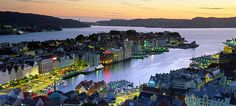 Bergen, Norway.  Where my Dad was born.