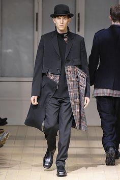 Yohji Yamamoto Fall 2008 Menswear Collection Slideshow on Style.com