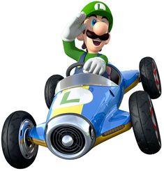 Luigi | Mario Kart 8 #Nintendo #WiiU
