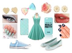 """""""what goes with the dress ?"""" by jdrummo on Polyvore featuring Uncommon, Converse, Forever 21, Kate Spade and Elegant Touch"""