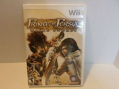 Wii Prince Of Persia Rival Swords Game Nintendo Ubisoft