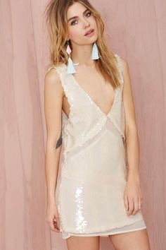 Nasty Gal Love Hangover Sequin Dress | Shop What's New at Nasty Gal