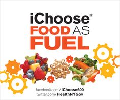 When you keep meals under 600 calories, choose fresh veggies, fruits and whole grains – you choose food as fuel! www.facebook.com/ichoose600