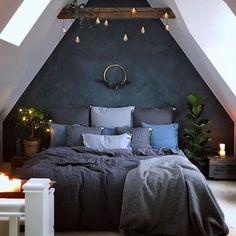 Cozy bedroom for snowy winter days ❤️