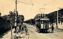 Пятигорск. Трамвай на Дворянской ул. 200х315