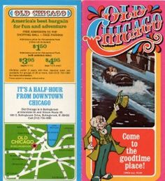 Old Chicago Indoor Amusement Park Brochure 1979, #1