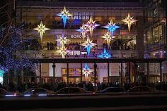 NYC ♥ NYC: Under the Stars: Time Warner Center Christmas Holiday Display