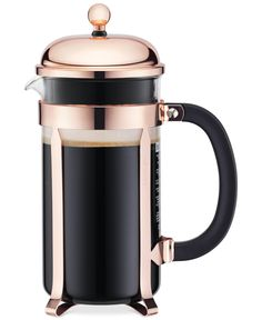 Classic French Press coffee maker: http://www.stylemepretty.com/2016/11/26/registry-essentials-for-cozy-holiday-weekend/