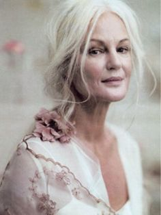 Grethe Kaspersen, real beauty is ageless.