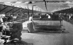 Photo of Belfast, Reeling Room, Ewart & Sons Linen Factory That Old Black Magic, Belfast, Northern Ireland, Binder, Genealogy, Old Photos, Sons, Textiles, Places