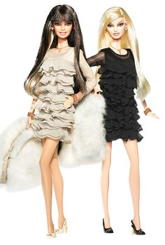 *Juicy Couture Beverly Hills G Barbie Dolls.  Gold Label. Release date:6/6/2008  PC:L9605