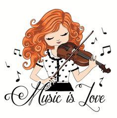 "❤️♪♫""MUSIC IS L❤️VE"" by StudioLondon."