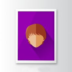 This is our Ron Weasley Minimalist Art! It's perfect for any Harry Potter fan. Check it out! :)