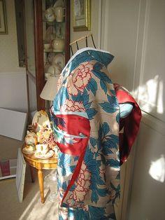 牡丹の小紋 ( ファッション ) - アンティーク着物ノート - Yahoo!ブログ