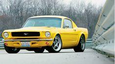Vintage Mustang, gotta love 'em! :)