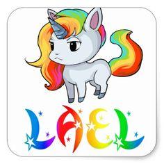 Lael Unicorn Sticker - diy cyo personalize design idea new special custom