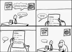 Some Dumb Comics: I like walruses...